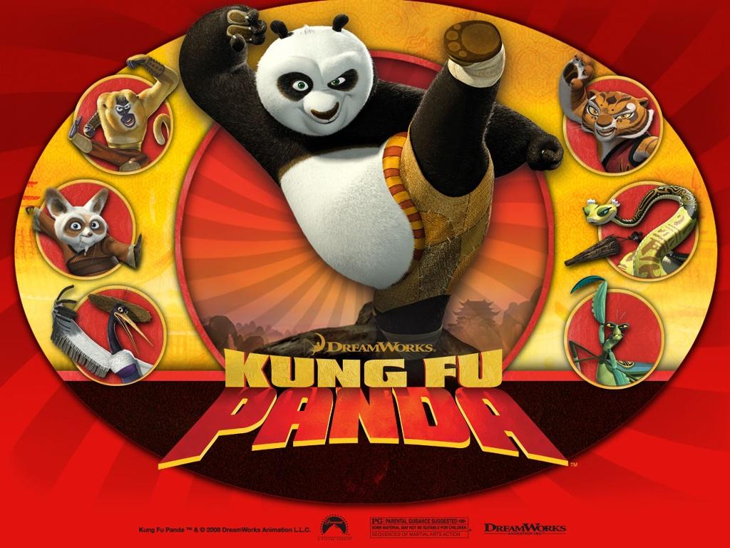 Cartoons Wallpaper: Kung-Fu Panda