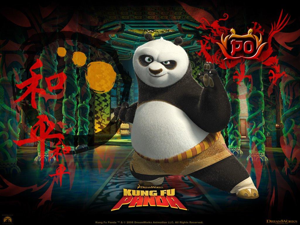Cartoons Wallpaper: Kung Fu Panda