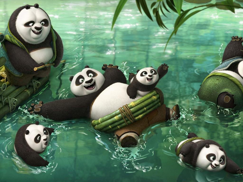 Cartoons Wallpaper: Kung Fu Panda 3