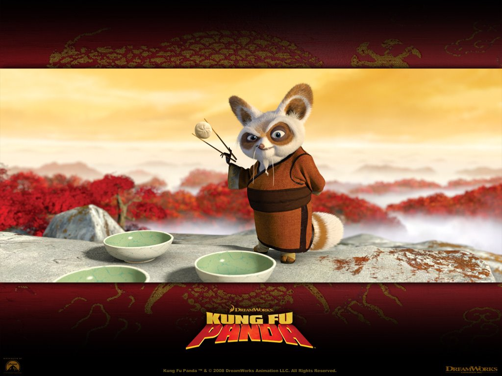 Cartoons Wallpaper: Kung Fu Panda - Master Shifu