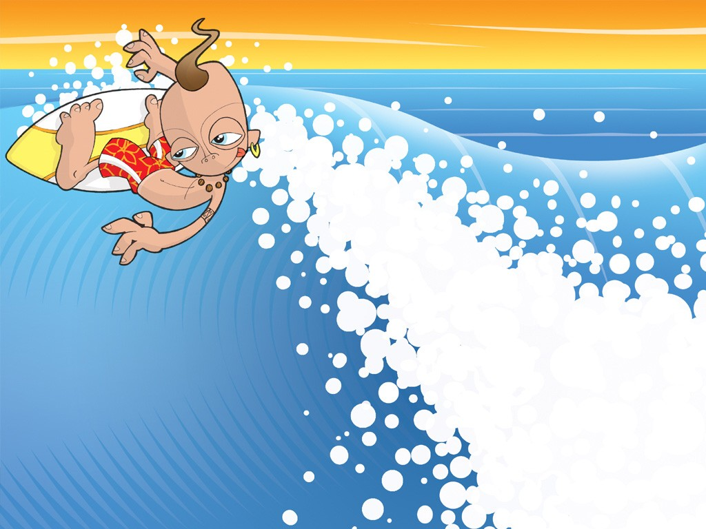 Cartoons Wallpaper: Last Wave