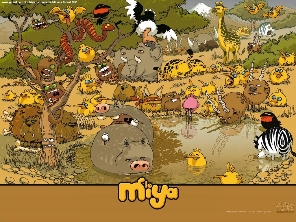Cartoons Wallpaper: Le Miya