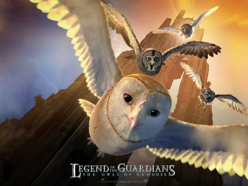 Cartoons Wallpaper: Legend of the Guardians