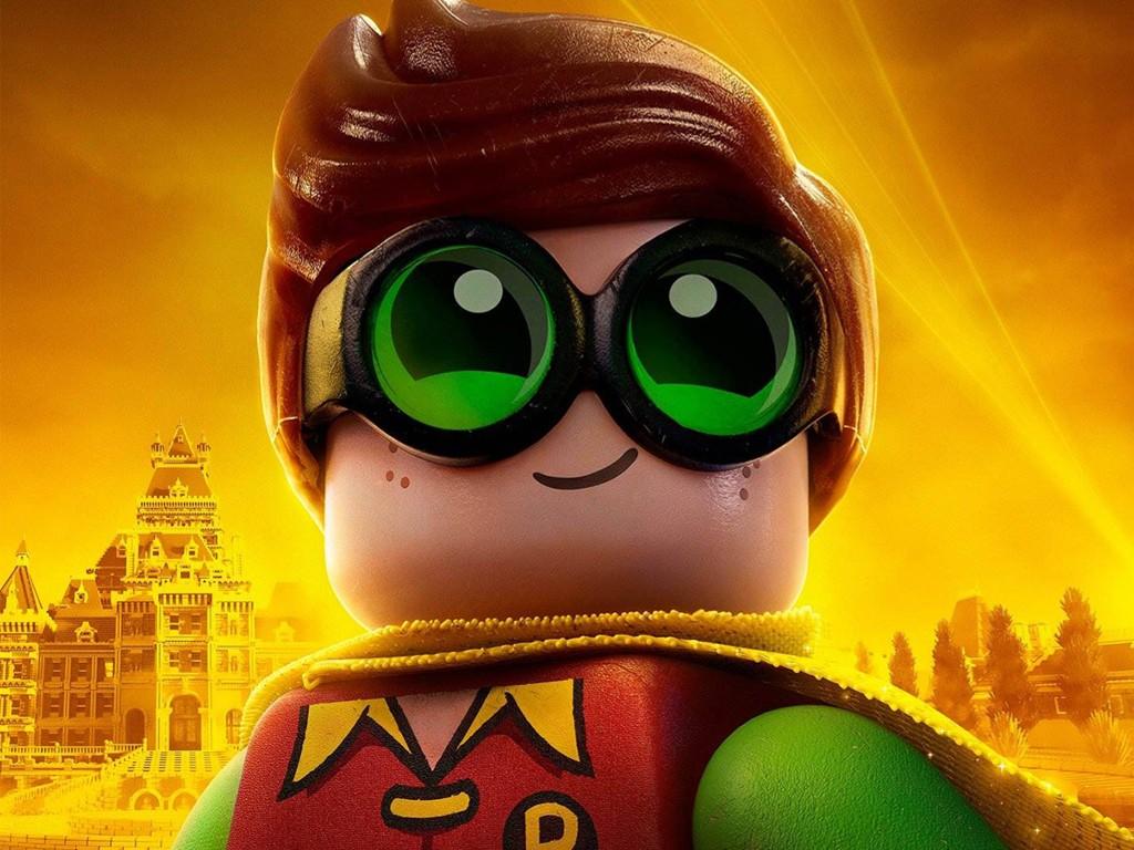 Cartoons Wallpaper: The Lego Batman Movie - Robin