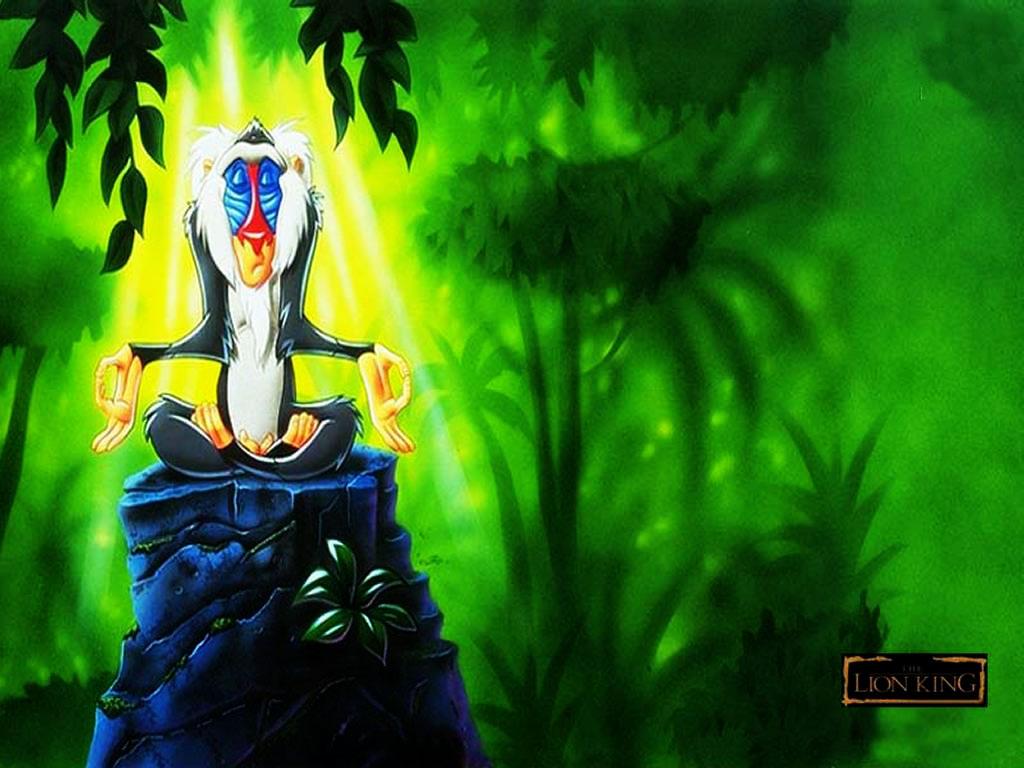 Cartoons Wallpaper: Lion King - Shaman