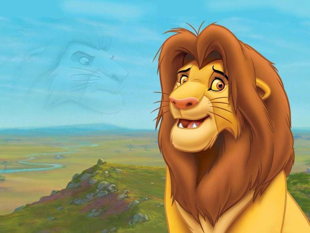 Cartoons Wallpaper: Lion King - Simba