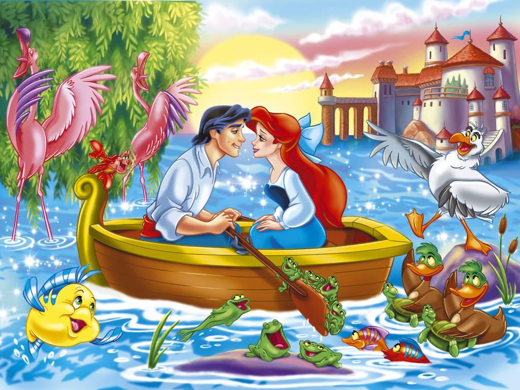 Cartoons Wallpaper: Little Mermaid