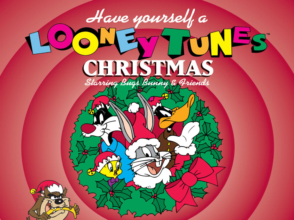 Cartoons Wallpaper: Looney Tunes - Christmas
