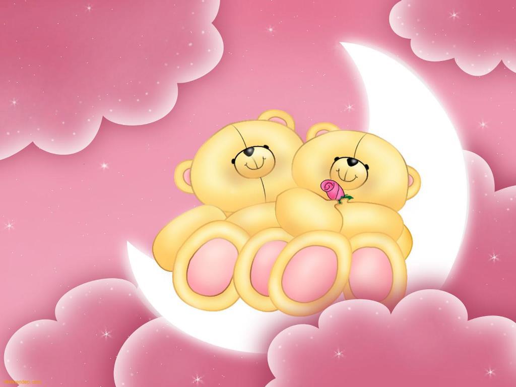 Cartoons Wallpaper: Love Bears
