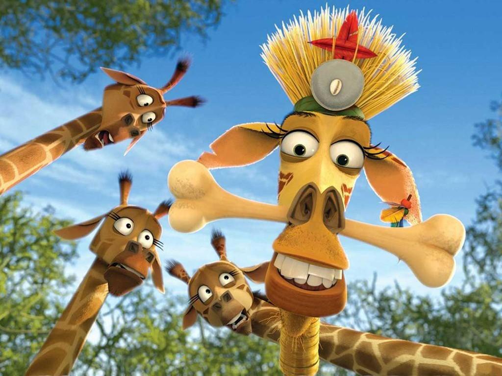 Cartoons Wallpaper: Madagascar 2 - Mellman