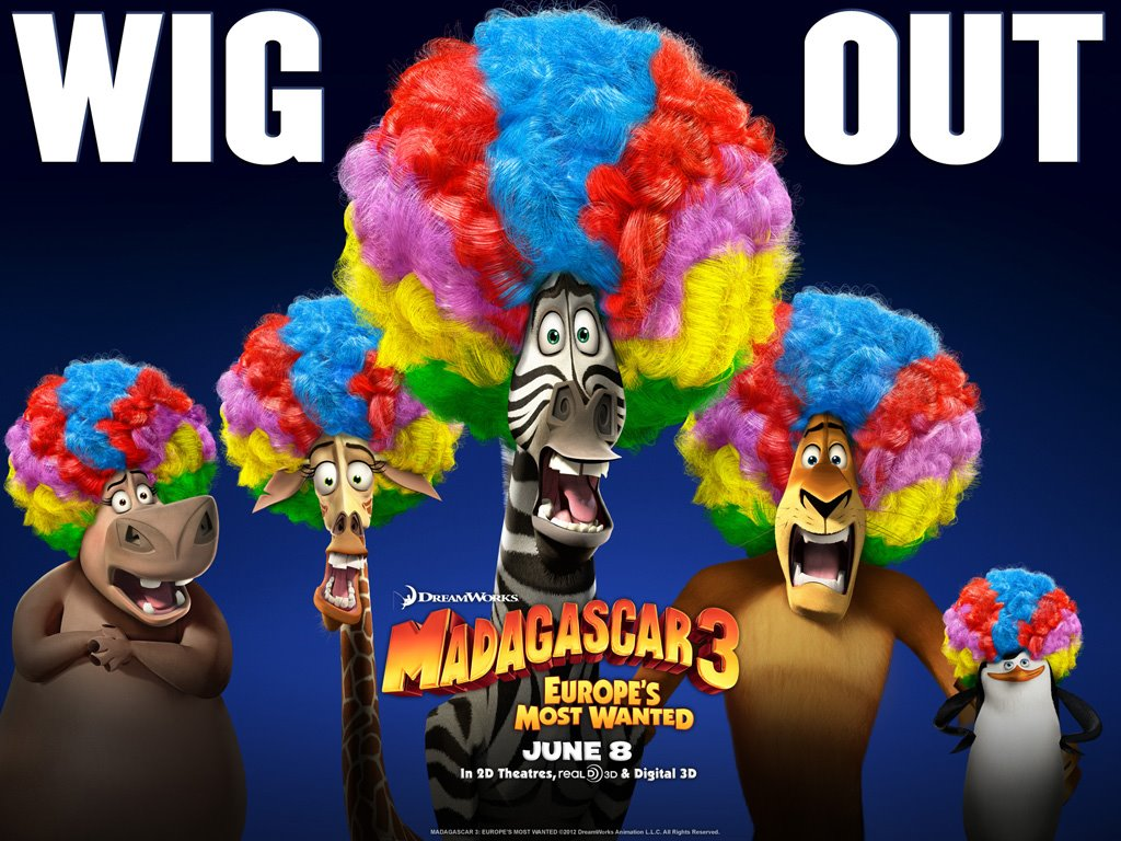 Cartoons Wallpaper: Madagascar 3 - Europe's Most Wanted