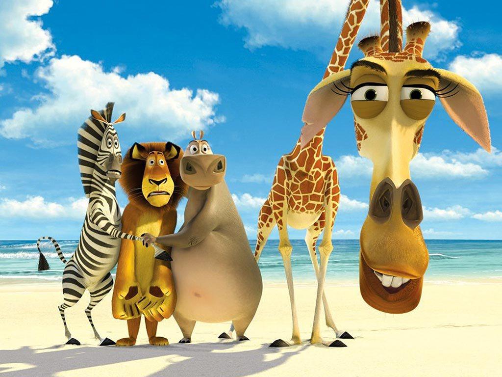 Cartoons Wallpaper: Madagascar