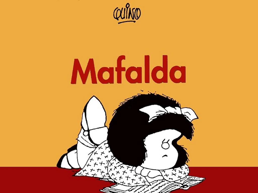 Cartoons Wallpaper: Mafalda
