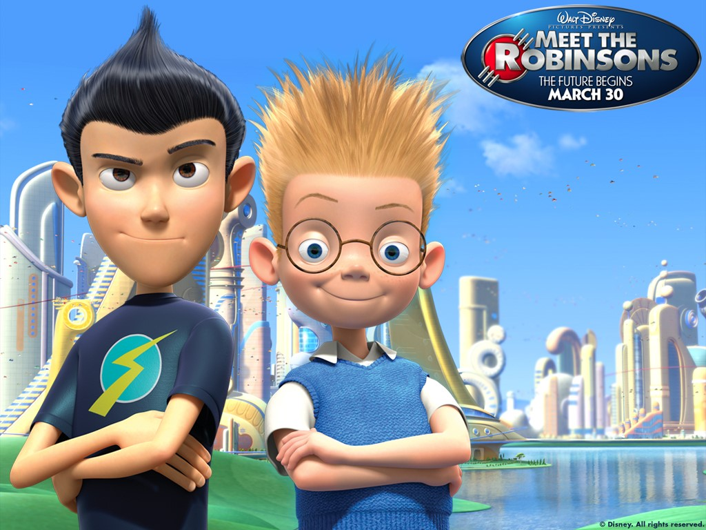Cartoons Wallpaper: Meet the Robinsons