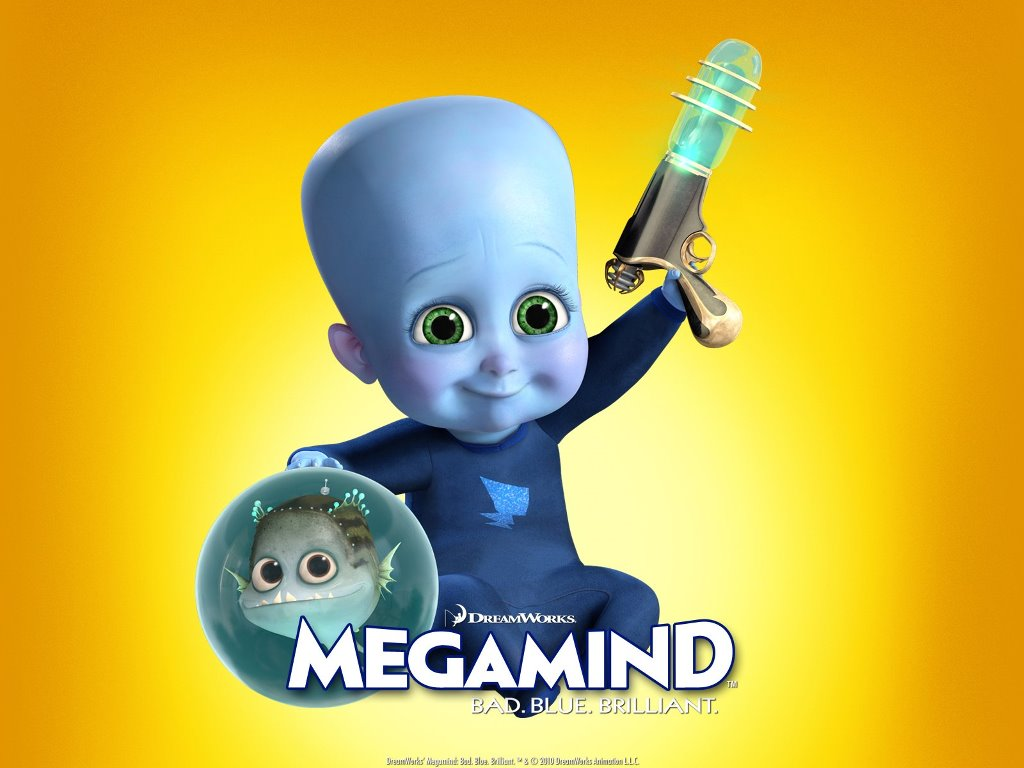 Cartoons Wallpaper: Megamind - Baby