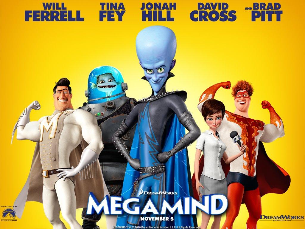 Cartoons Wallpaper: Megamind - Cast