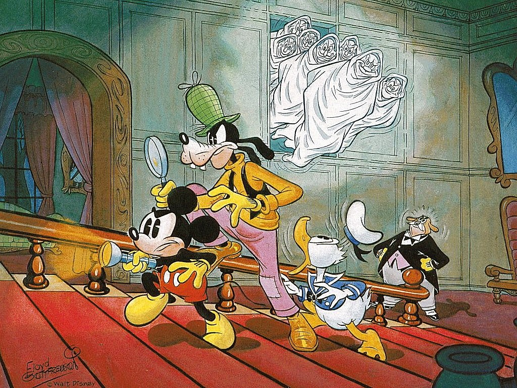 Cartoons Wallpaper: Mickey and The Seven Ghosts