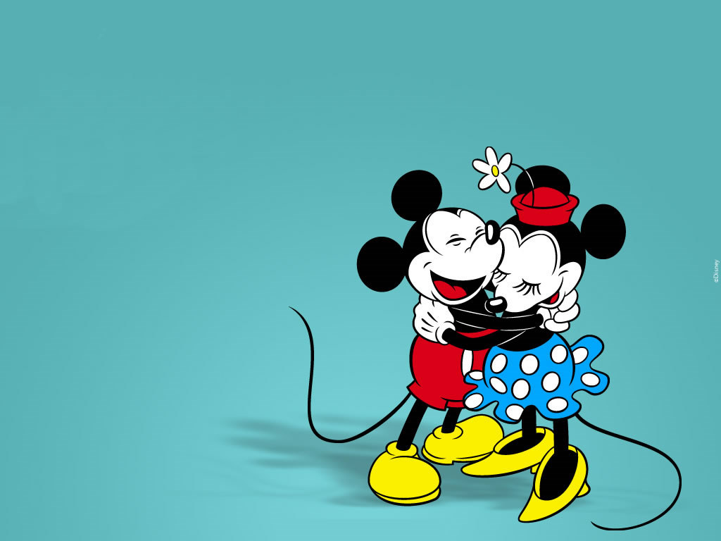 Cartoons Wallpaper: Mickey and Minnie - Classic