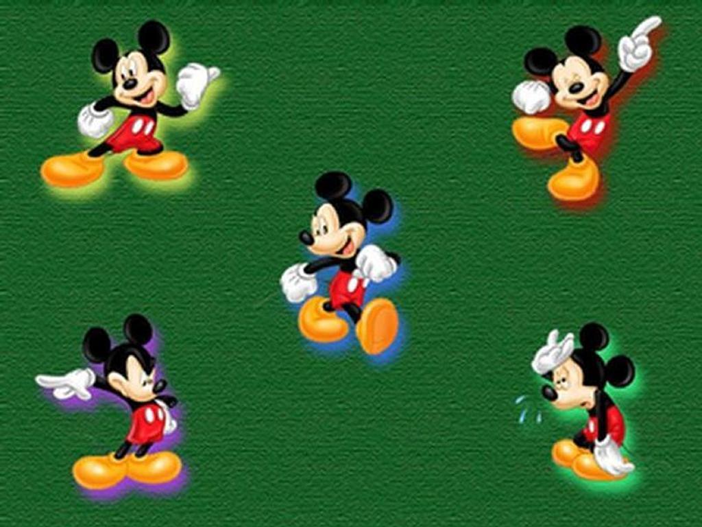 Cartoons Wallpaper: Mickey Collage