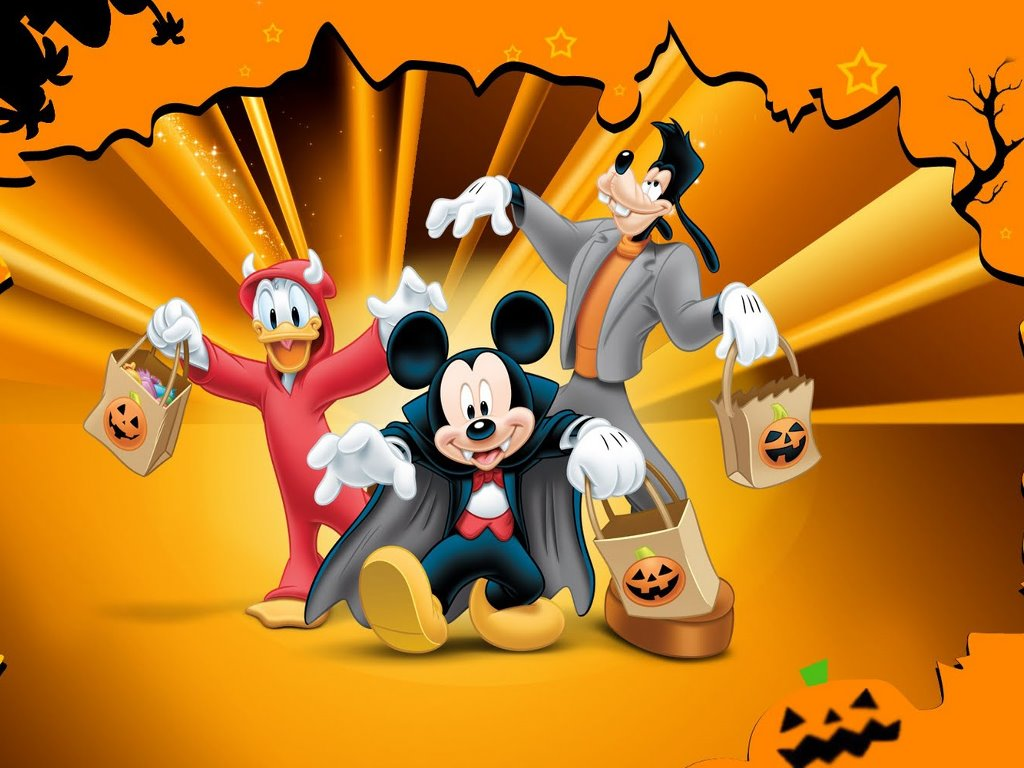 Cartoons Wallpaper: Mickey Mouse - Halloween