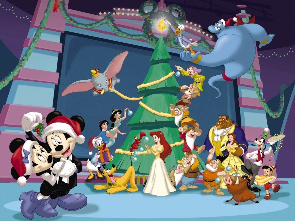 Cartoons Wallpaper: Mickey's Magical Christmas