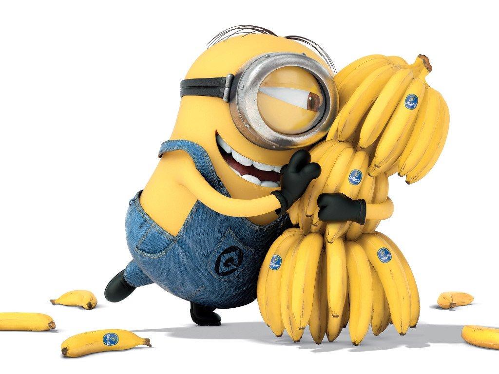 Cartoons Wallpaper: Minion - Bananas