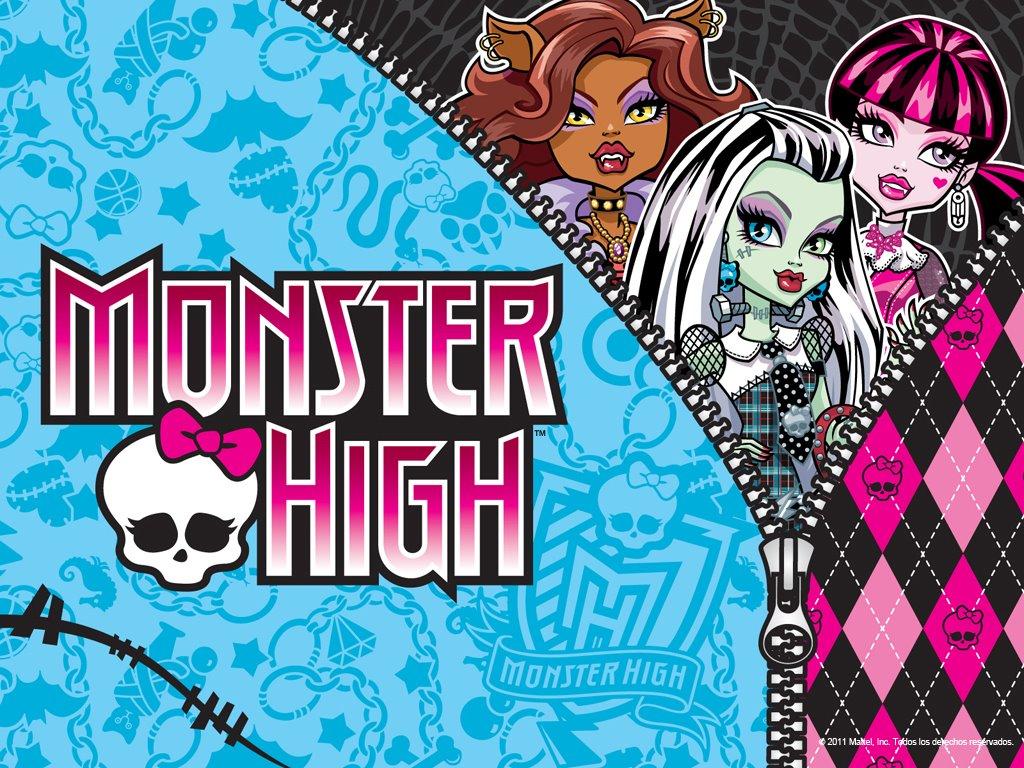 Cartoons Wallpaper: Monster High