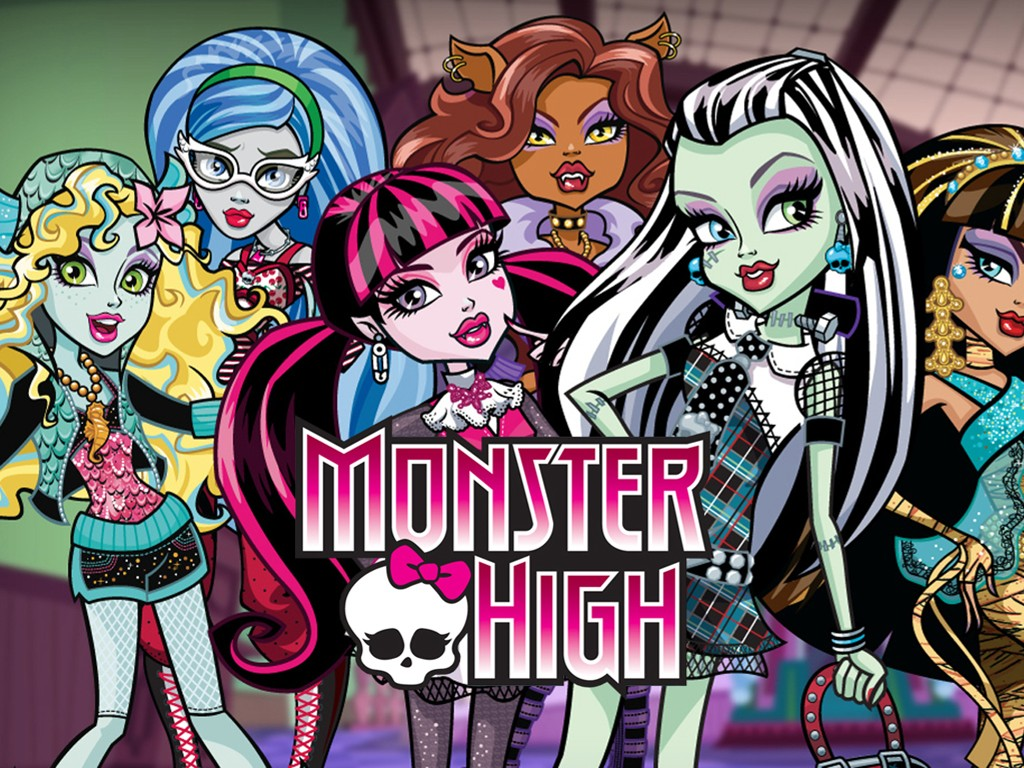 Cartoons Wallpaper: Monster High