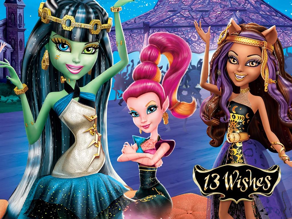 Cartoons Wallpaper: Monster High - 13 Wishes