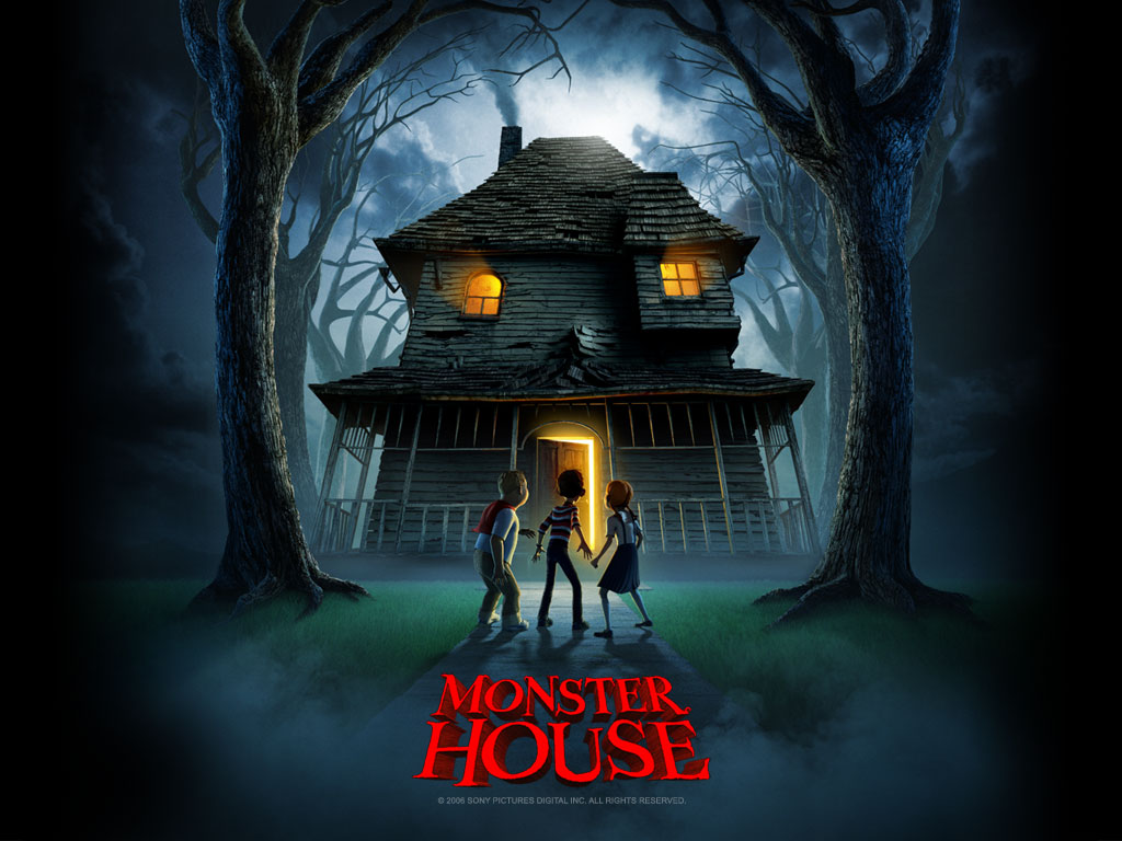 Cartoons Wallpaper: Monster House