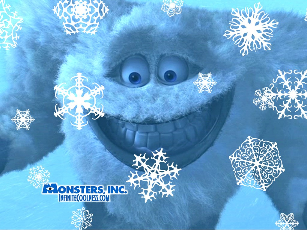 Cartoons Wallpaper: Monsters Inc. - Abominable Snowman