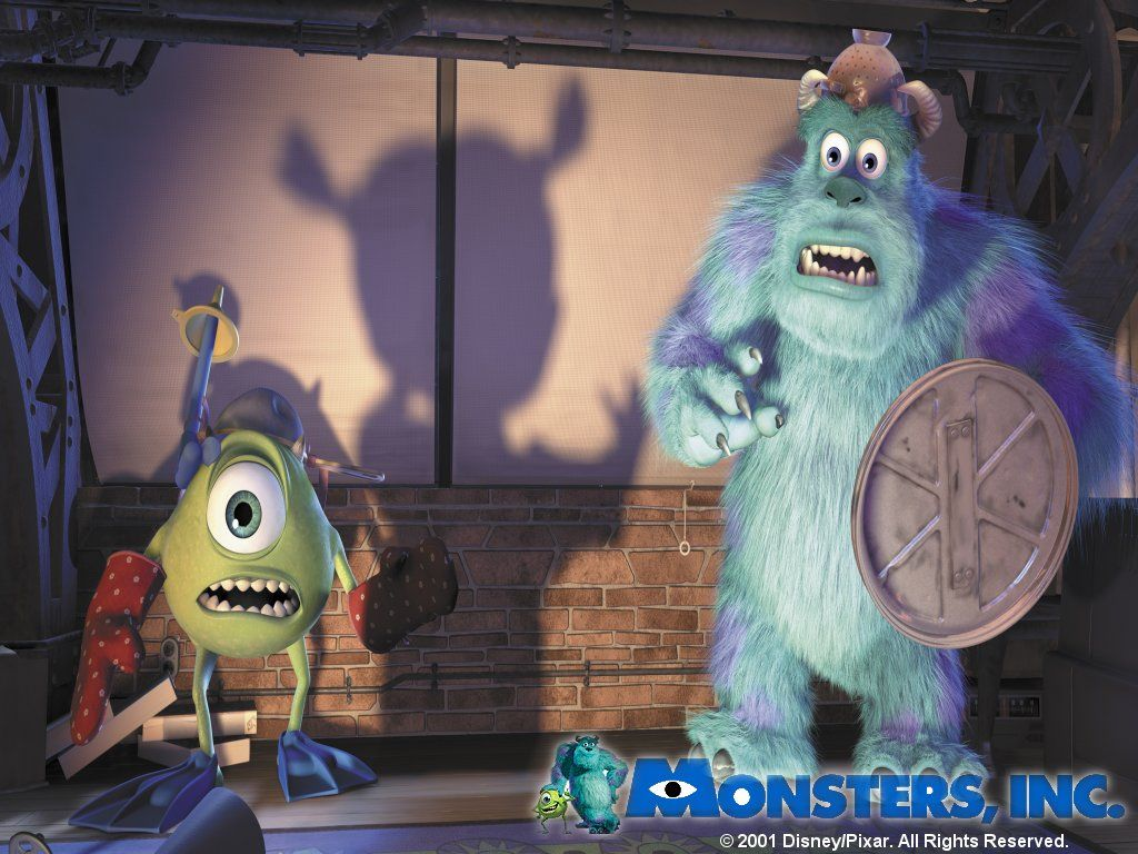 Cartoons Wallpaper: Monsters, Inc
