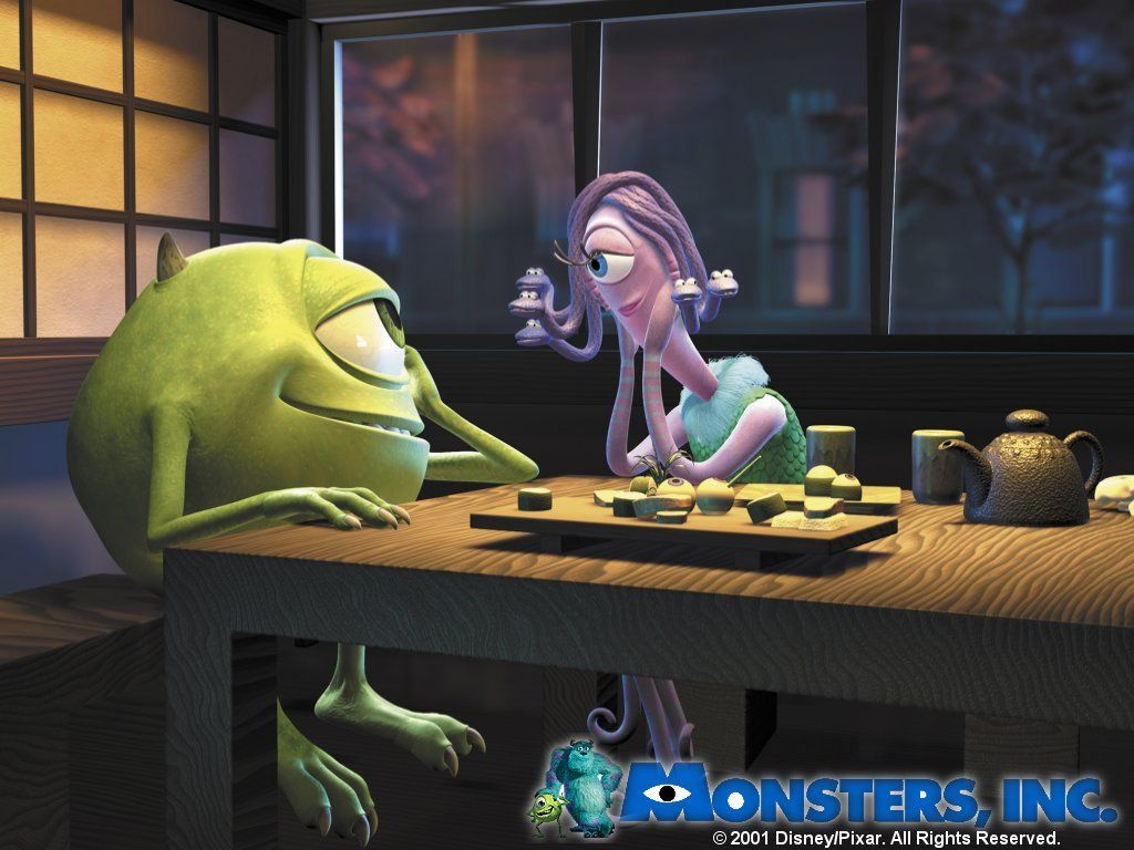 Cartoons Wallpaper: Monsters Inc