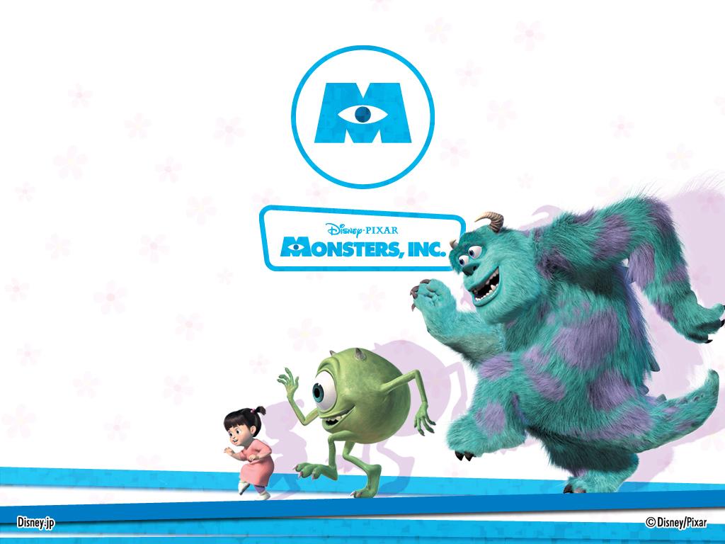 Cartoons Wallpaper: Monsters Inc.