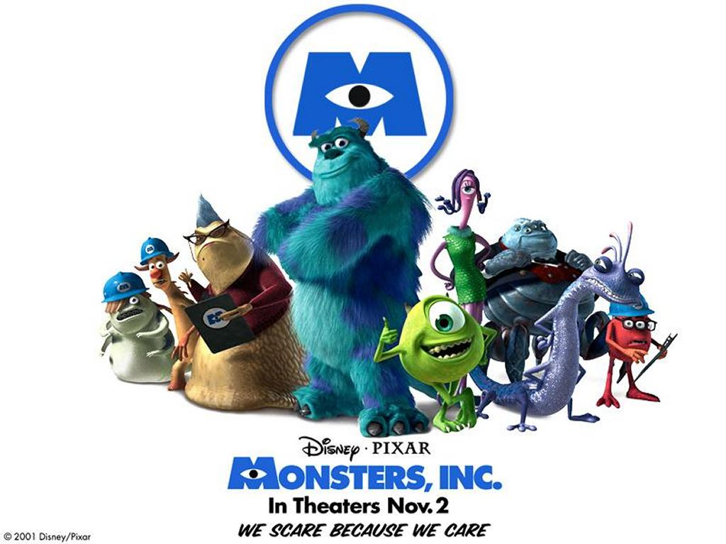 Cartoons Wallpaper: Monsters, Inc - Team