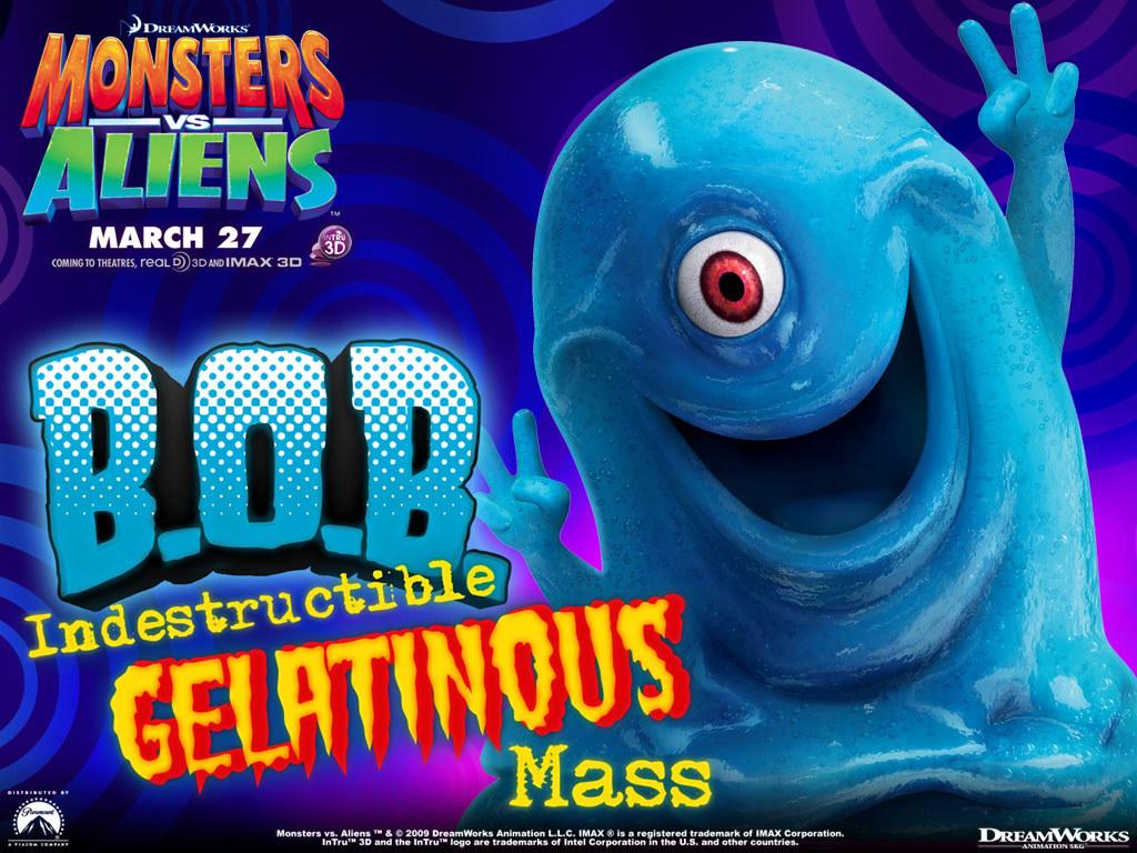 Cartoons Wallpaper: Monsters vs Aliens