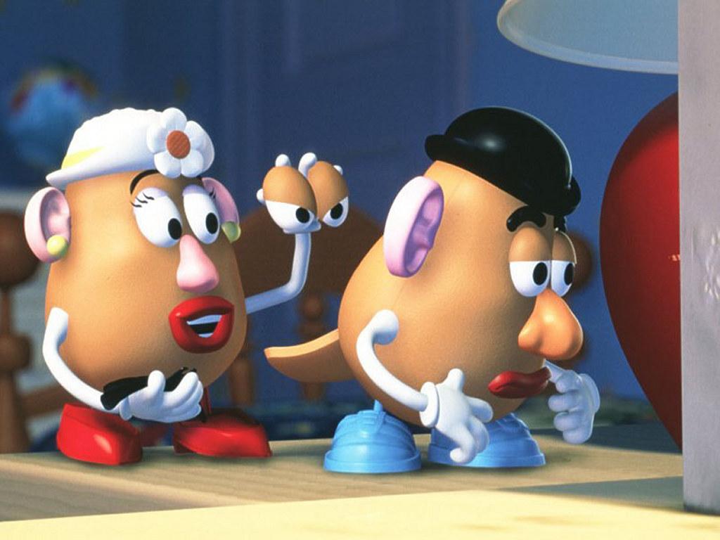 Cartoons Wallpaper: Mr. Potato Head