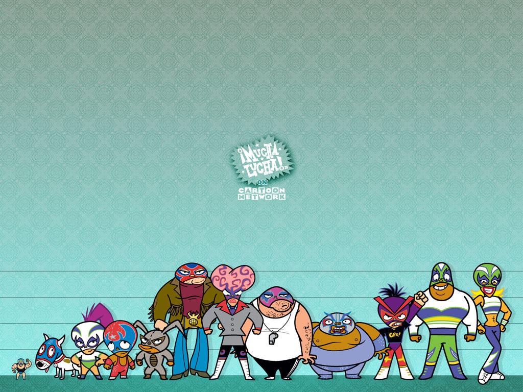Cartoons Wallpaper: Mucha Lucha