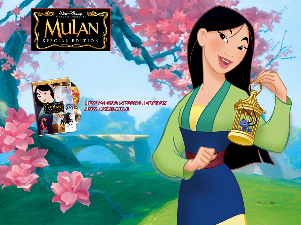 Cartoons Wallpaper: Mulan