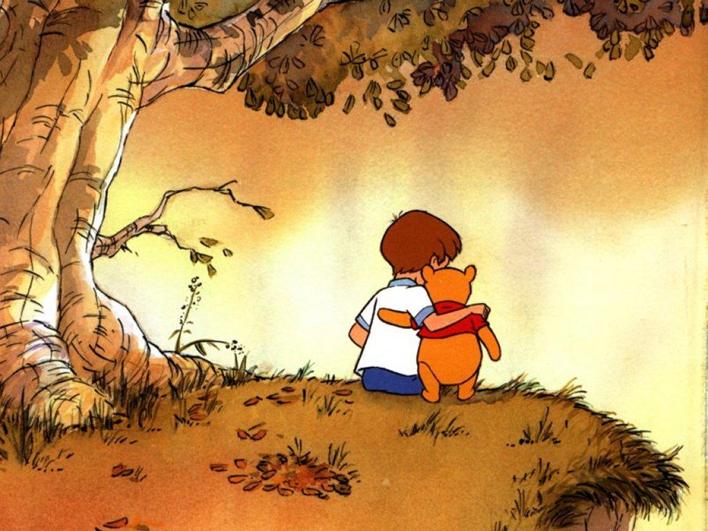 Cartoons Wallpaper: My Friend Pooh