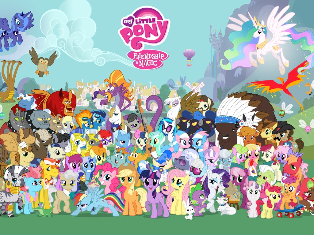 Cartoons Wallpaper: My Little Pony - Friendship Is Magic