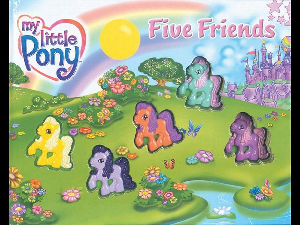 Cartoons Wallpaper: My Little Pony - Five Friends