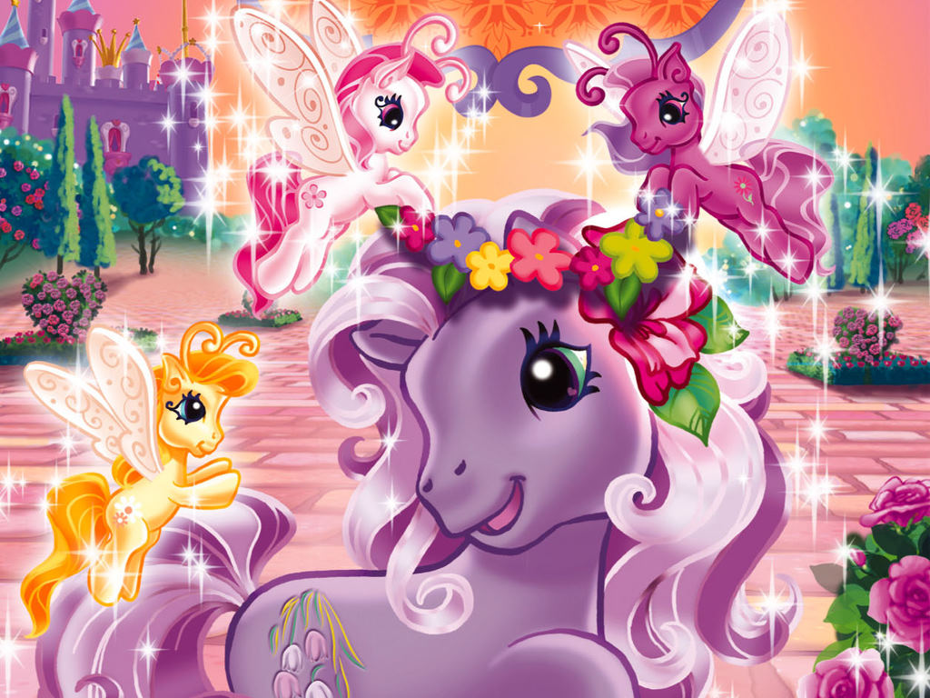 Cartoons Wallpaper: My Little Pony - Princess Promenade
