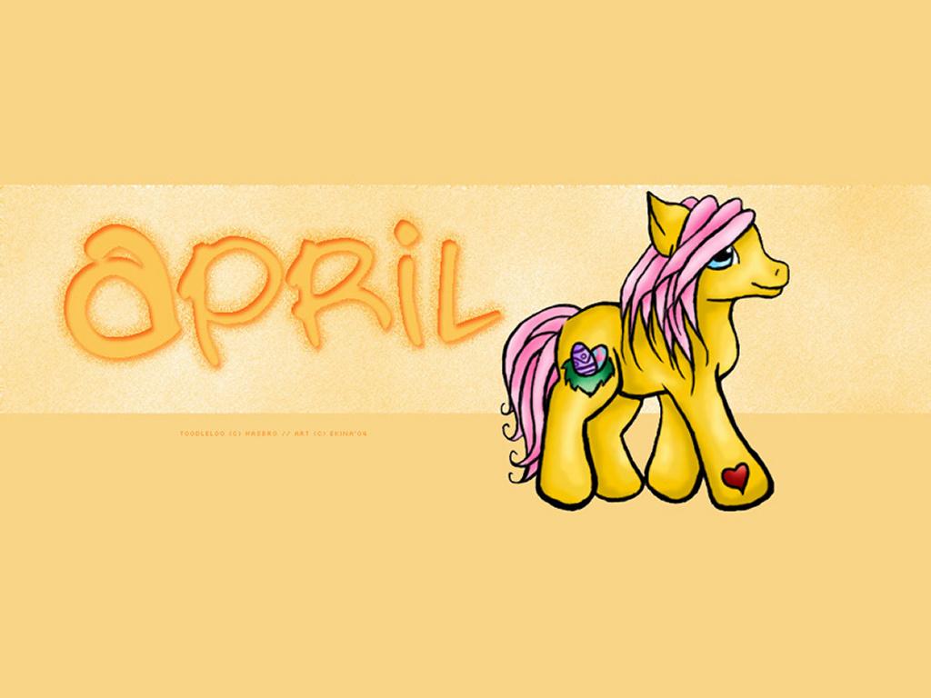 Cartoons Wallpaper: My Little Pony - Toodleloo