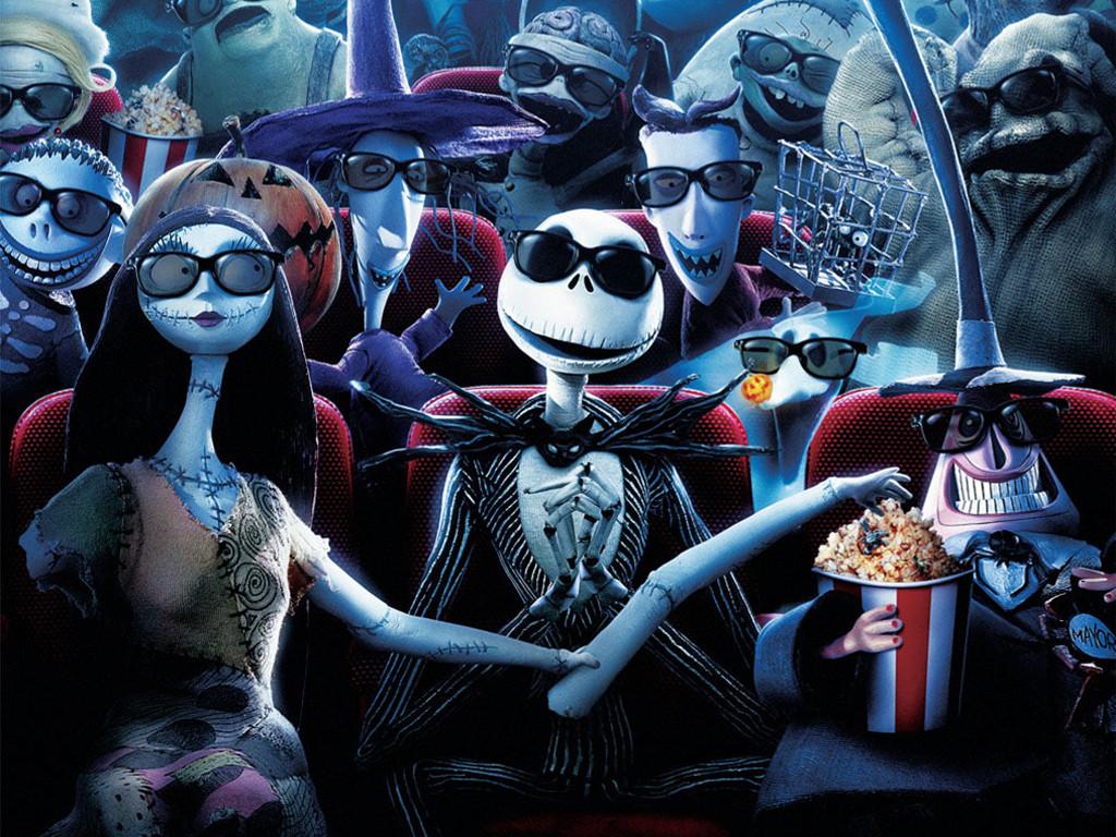 Cartoons Wallpaper: Nightmare Before Christmas 3D