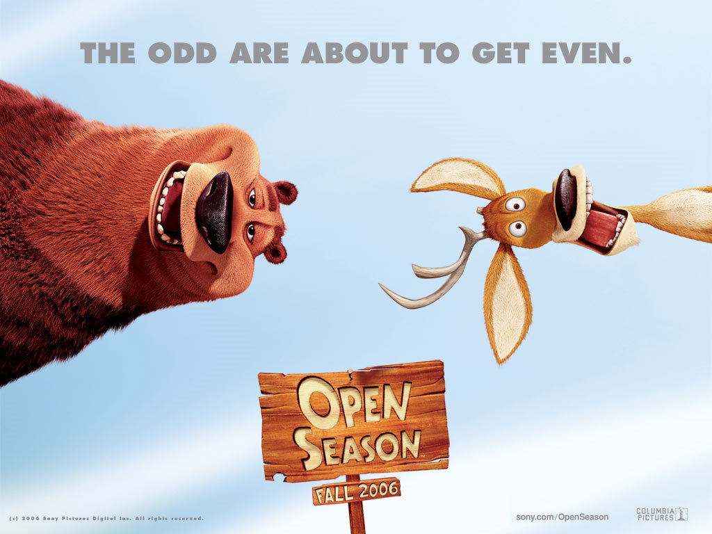 Cartoons Wallpaper: Open Season