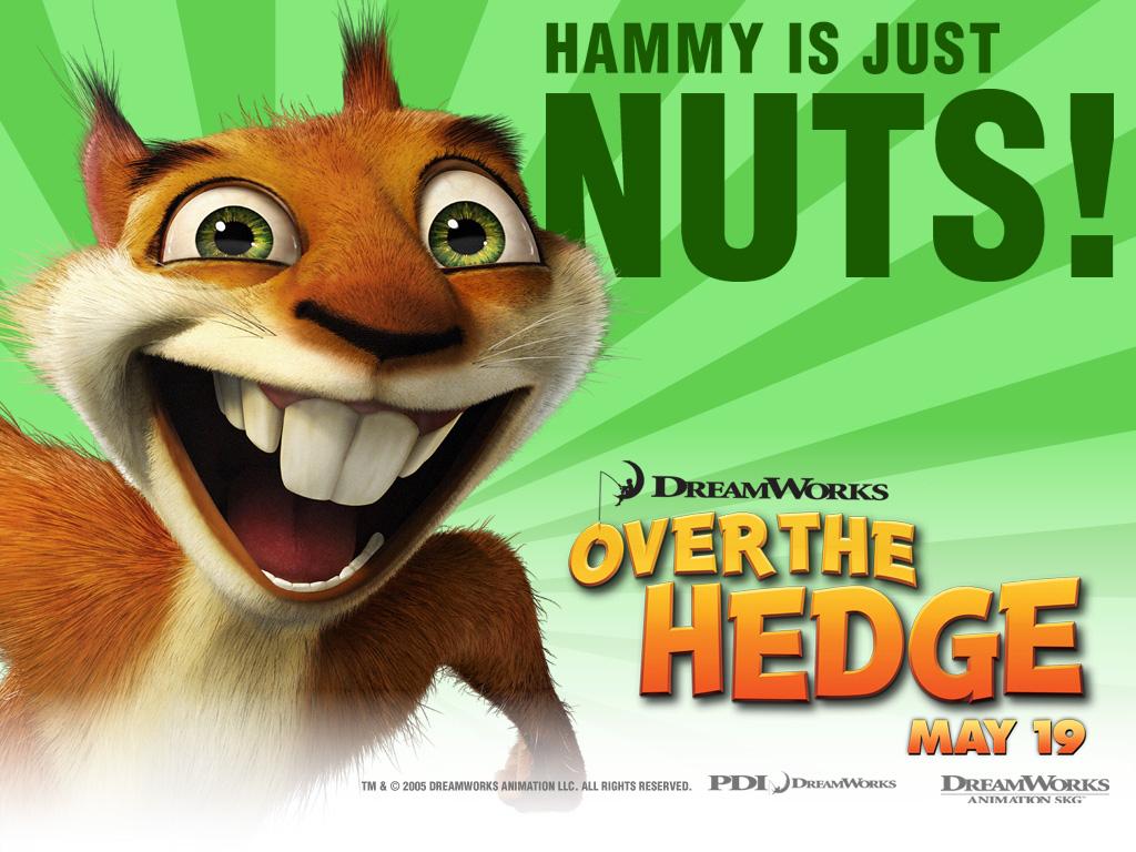 Cartoons Wallpaper: Over the Hedge - Hammy