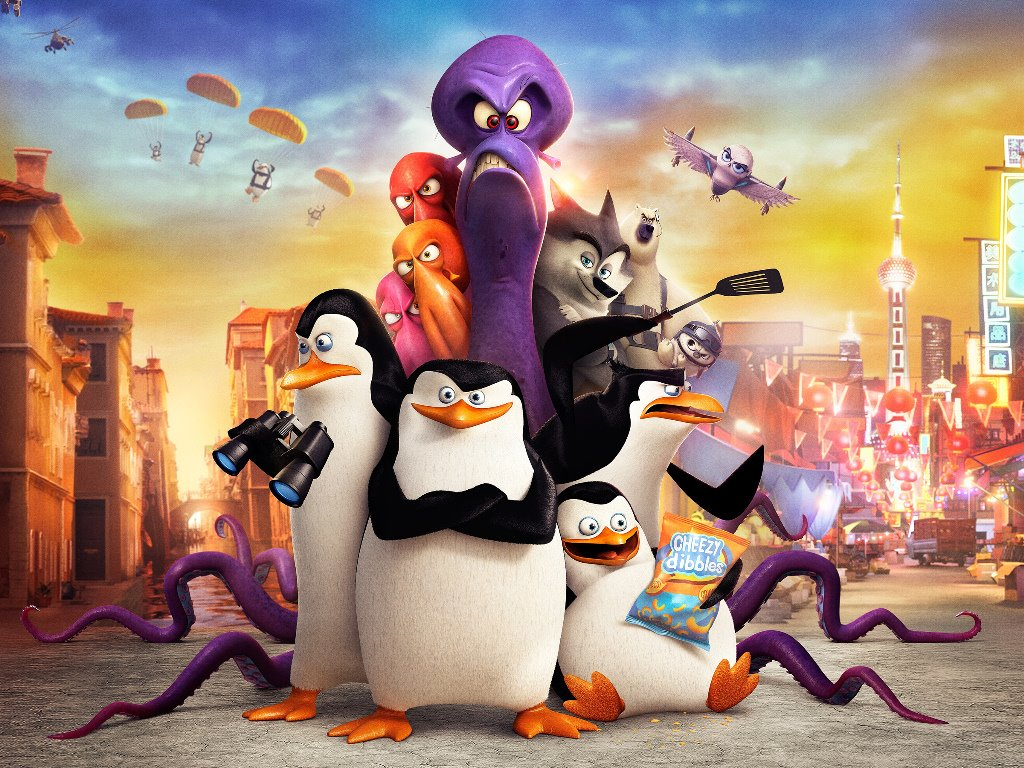 Cartoons Wallpaper: Penguins of Madagascar