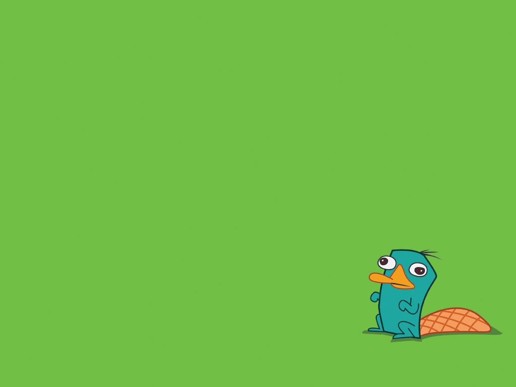 Cartoons Wallpaper: Perry the Platypus