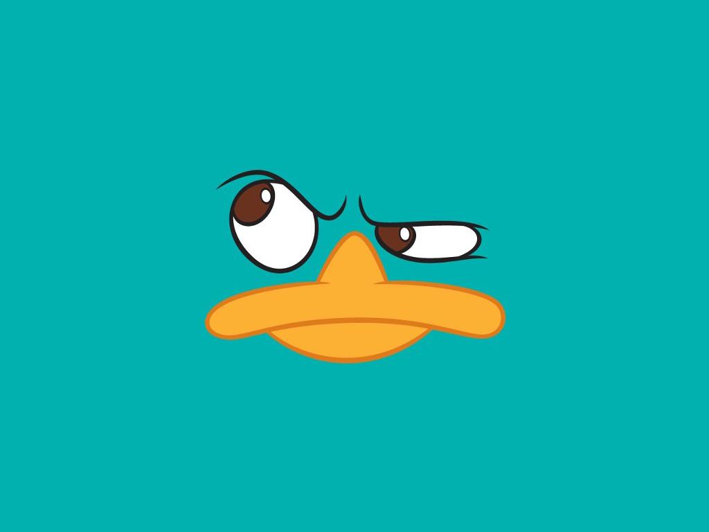 Cartoons Wallpaper: Perry the Platypus